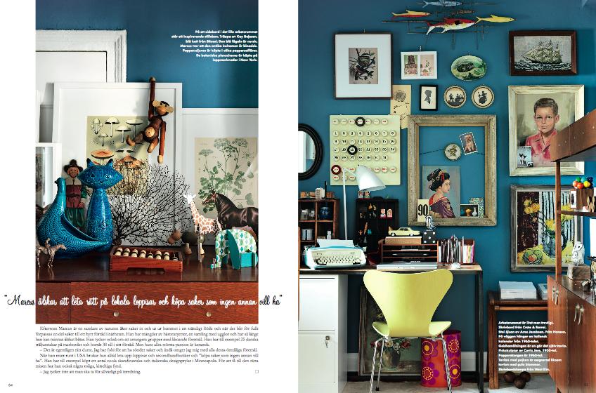 Elle interior sweden textile and terrain interior design for Swedish design magazine