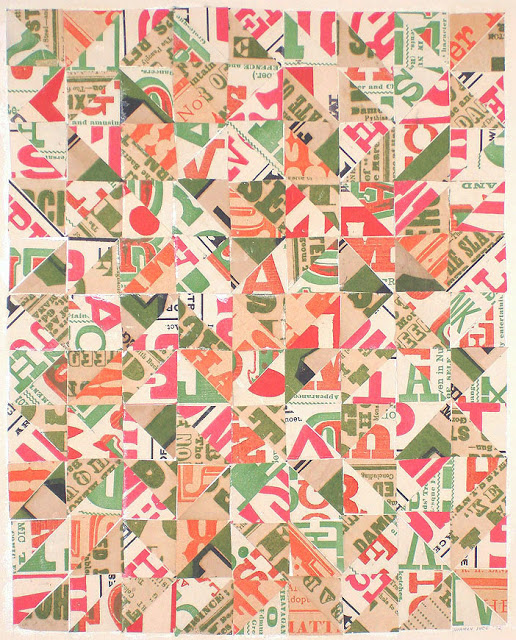 Norman-Ives-Orange-Green-Pink-Collage-'72-francis