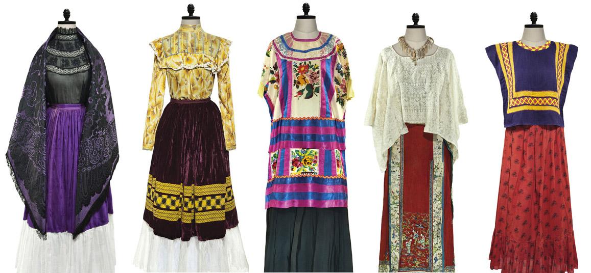 Frida_Kahlos_dresses
